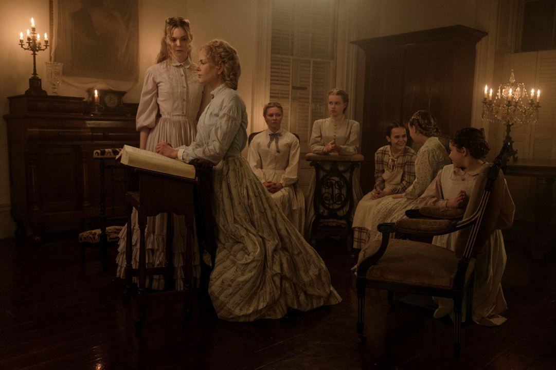 Les Proies : Photo Addison Riecke, Angourie Rice, Elle Fanning, Emma Howard, Kirsten Dunst