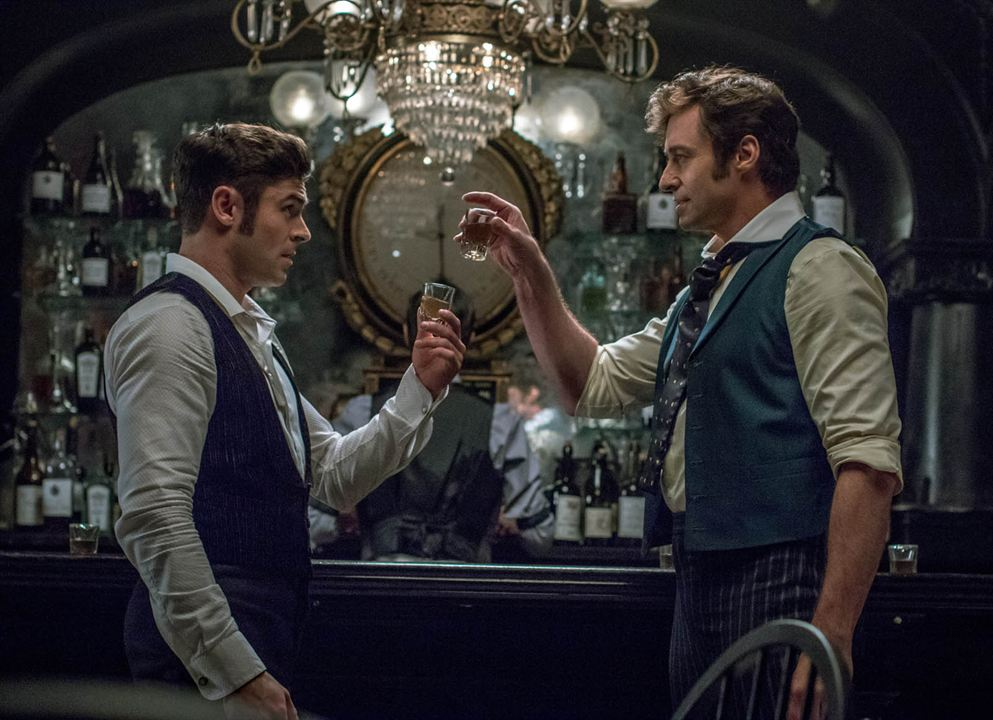 The Greatest Showman : Photo Hugh Jackman, Zac Efron