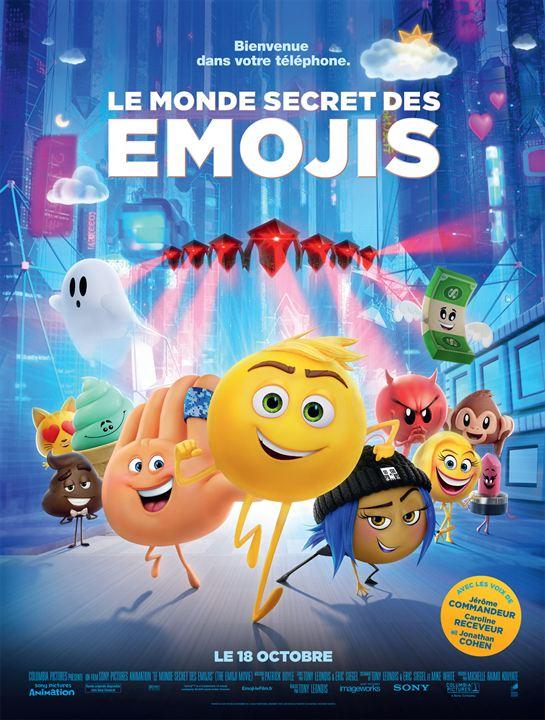Le Monde secret des Emojis : Affiche