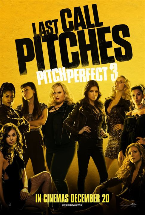 Pitch Perfect 3 : Affiche