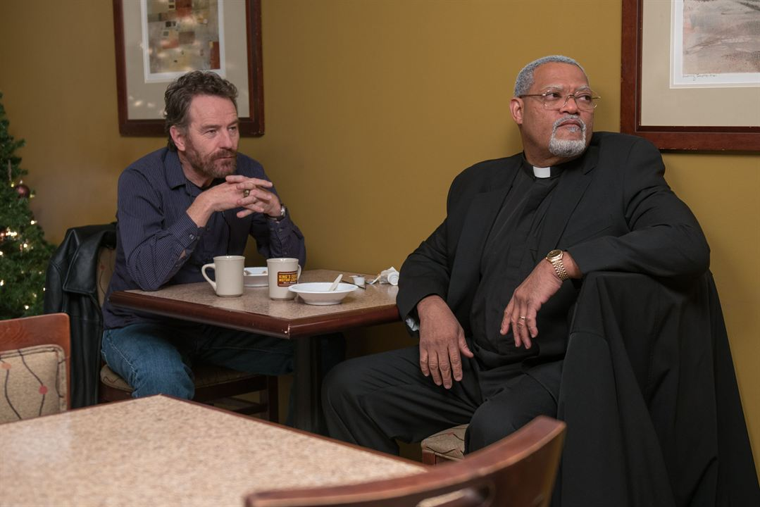 Last Flag Flying : Photo Bryan Cranston, Laurence Fishburne