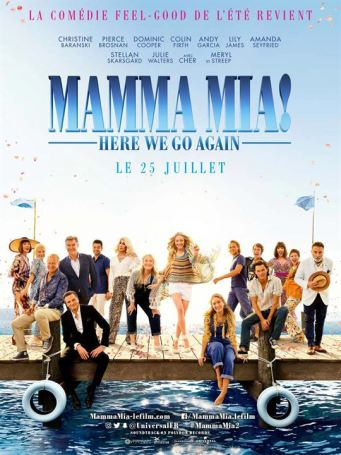 Mamma Mia! Here We Go Again : Affiche