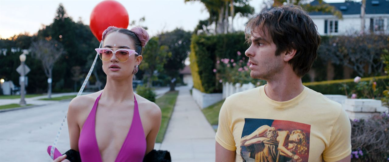Under The Silver Lake : Photo Andrew Garfield, Grace Van Patten