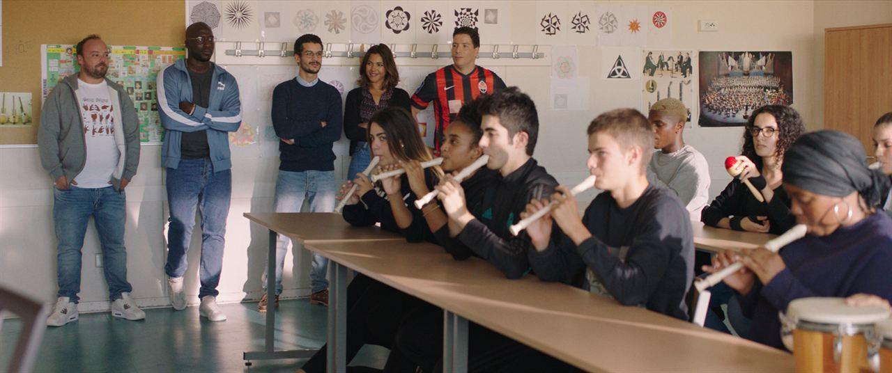 La Vie scolaire : Photo Alban Ivanov, Moussa Mansaly, Soufiane Guerrab, Zita Hanrot