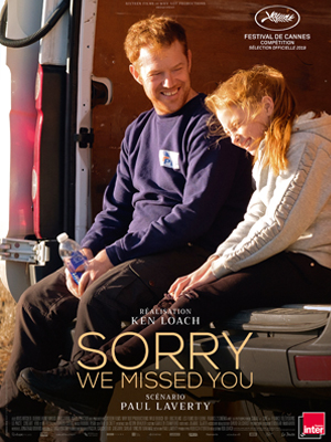 Sorry We Missed You : Affiche