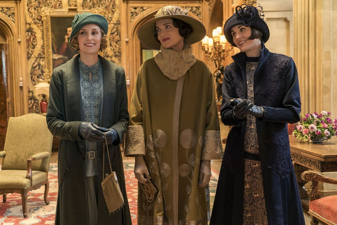 Downton Abbey : Photo Laura Carmichael, Michelle Dockery, Raquel Cassidy
