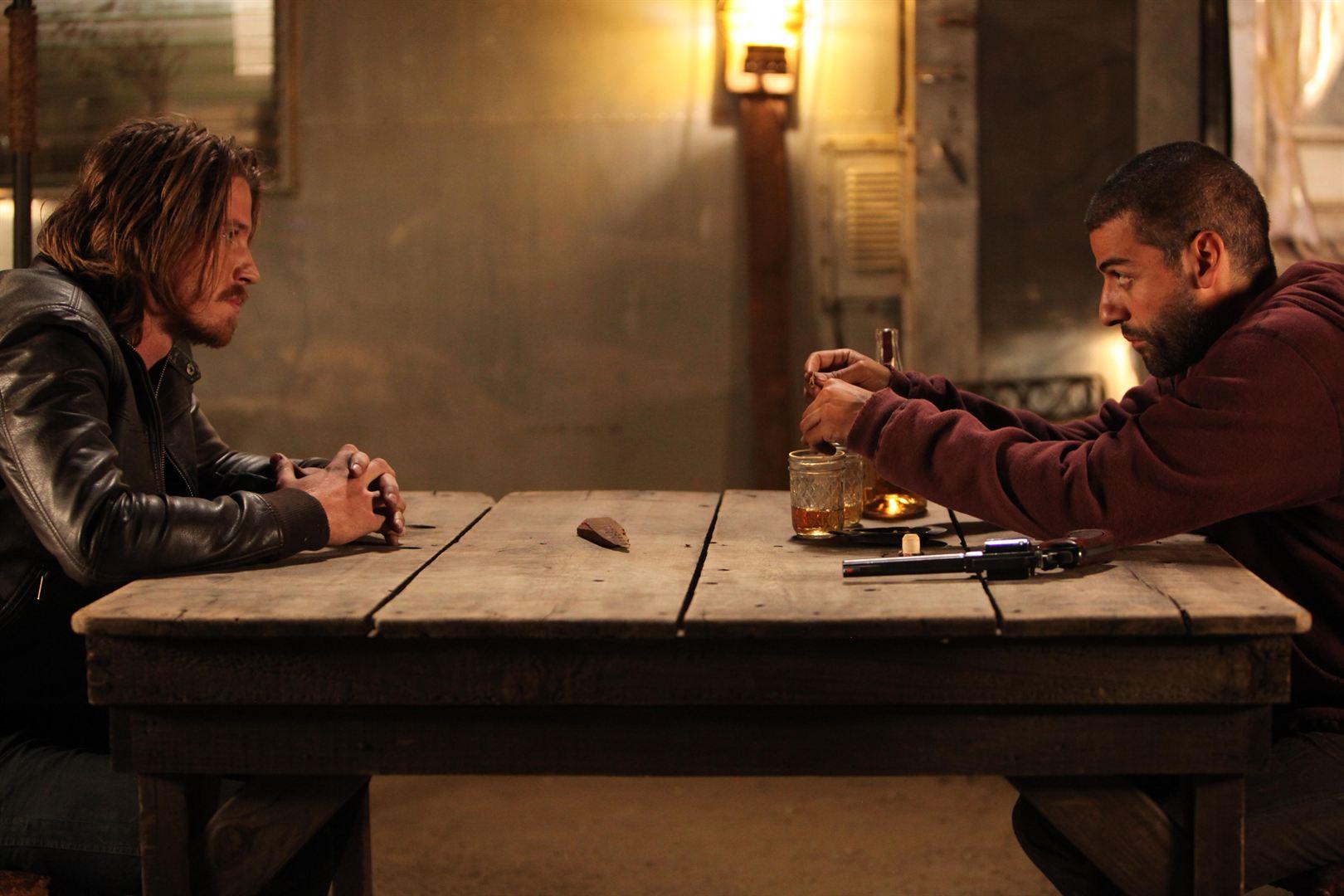Thomas (Garrett Hedlund) et Jack (Oscar Isaac)
