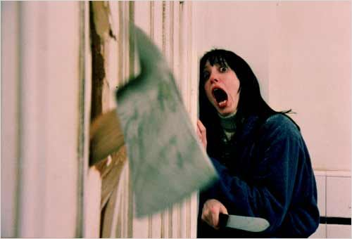 Shining : Photo Shelley Duvall, Stanley Kubrick