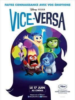 Critique sur le film d'animation de Pixar: Vice Versa 1
