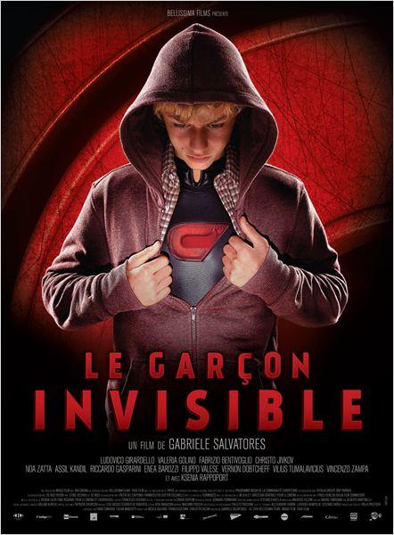 Le Garçon invisible : Affiche