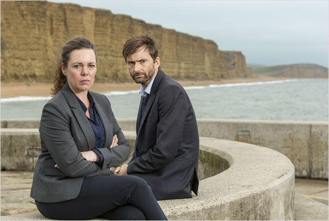 Photo David Tennant, Olivia Colman