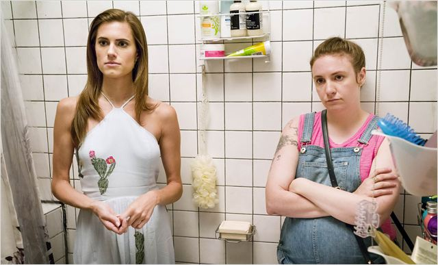 Photo Allison Williams, Lena Dunham