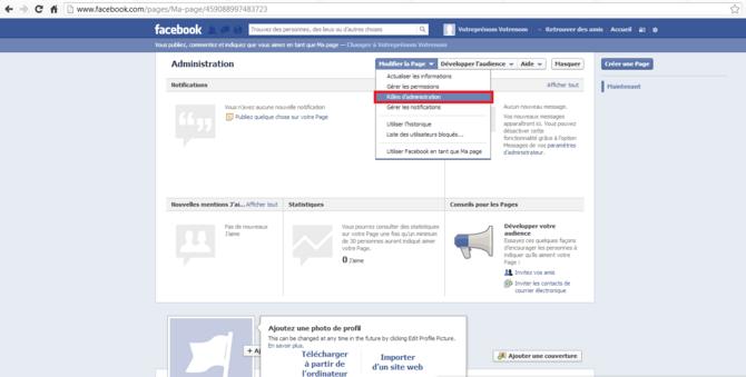 Comment supprimer un compte facebook for Demande 12s interieur d1a gov dz