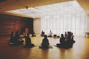 Sangha meeting