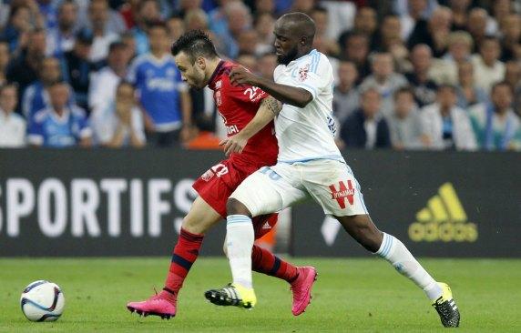 Lassana Diarra et Mathieu Valbuena | Reuters