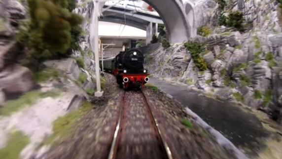 le plus grand train miniature du monde