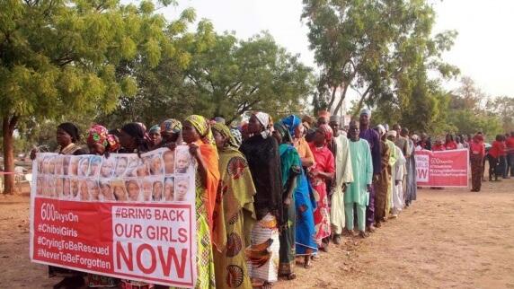 Nigerian women | STRINGER/AFP