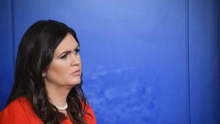 Sarah Huckabee / JIM WATSONS / AFP
