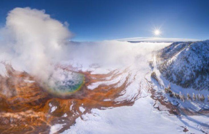 volcan de Yellowstone