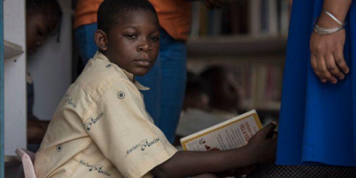 Bibliothèque mobile au Nigeria