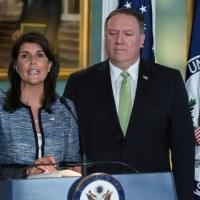 Les Etats-Unis claquent la porte du Conseil des droits de l'homme de l'ONU