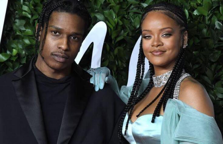 ASAP Rocky et Rihanna