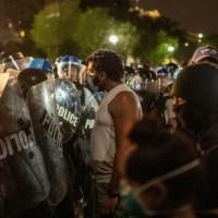 Décès de George Floyd: nouvelle nuit de colère aux Etats-Unis, y compris devant la Maison Blanche