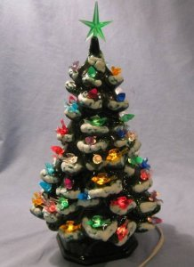 christmas tree ceramic