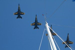 Blue Angels in the rigging...great pic if I do say so me self