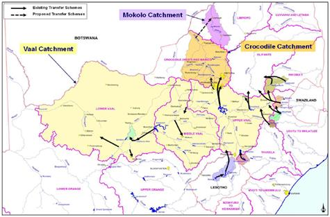 upper vaal catchment