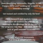 career in testing for microbiology, training program schedule for food and beverage testing