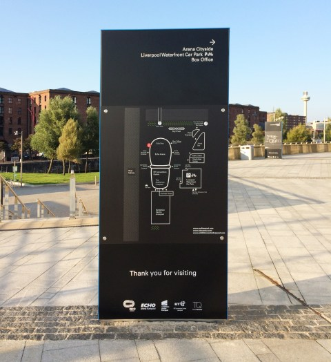 ACC Wayfinding Scheme Installed at ECL