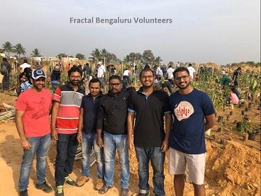 Tree plantation drive in Bengaluru