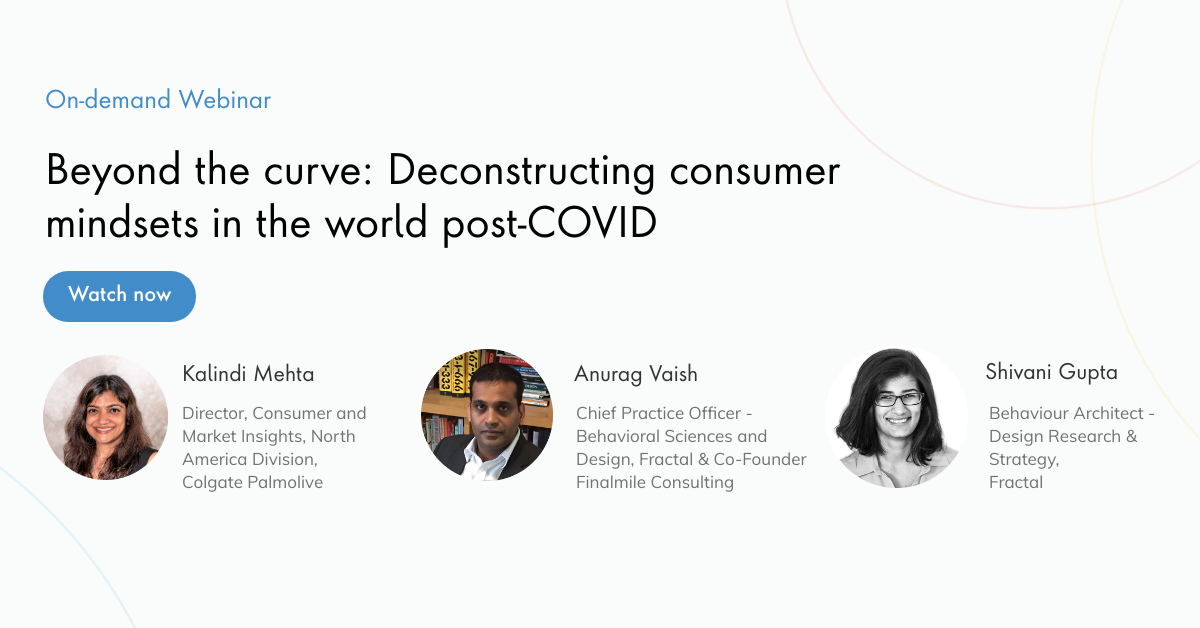 Beyond the curve: Deconstructing consumer mindsets in the world post-COVID