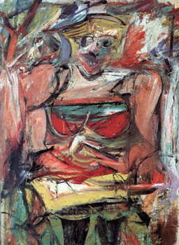 Woman 5 - Willem De Kooning (1952)