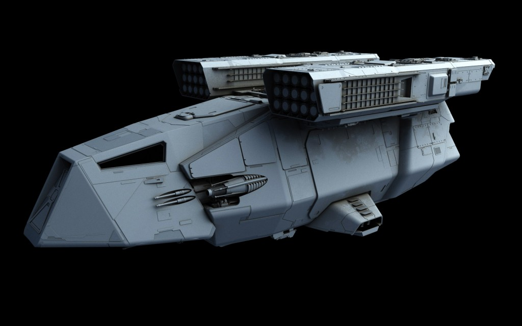 Republic Wars Star Blueprints Gunship