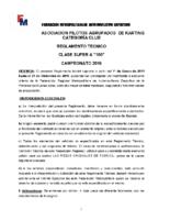 APAK REGLAMENTO CLASE 80 SUPER A 2019