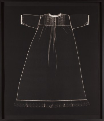 From the series My Ghost, 1999, platinum print photogram