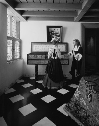 The Music Lesson, 1999, gelatin-silver print