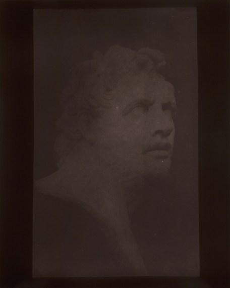 Bust of Patroclus, September 8, 1841, 2009, toned gelatin-silver print