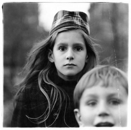 Girl in a watch cap, N.Y.C. 1965, gelatin-silver print