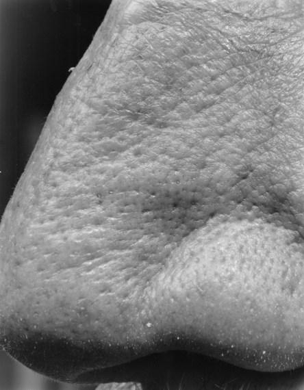 NICHOLAS NIXON, Self (28), Brookline, 2009, gelatin-silver contact print