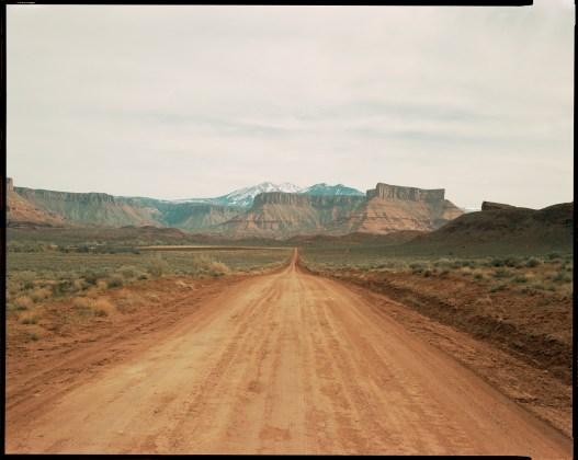 Road, Moab, 1997