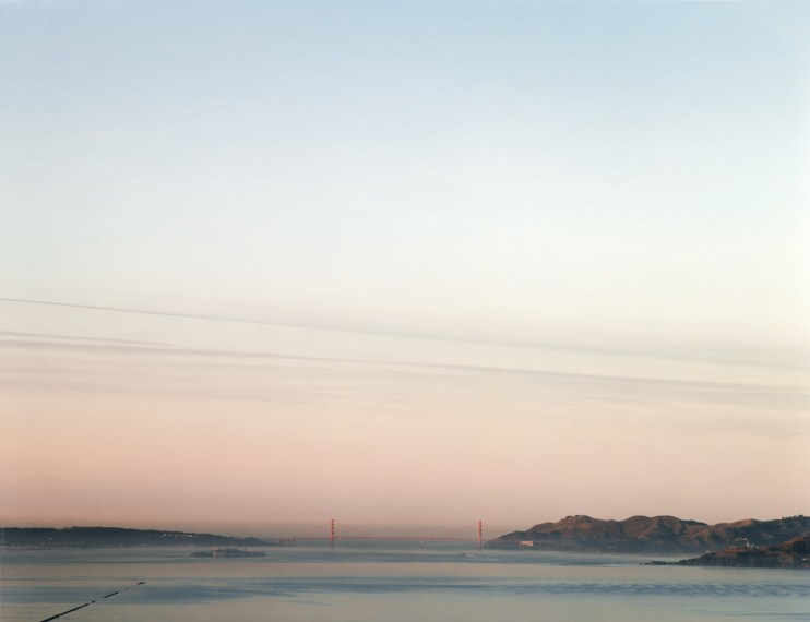 Golden Gate Bridge, 12.19.99, 7:31AM, 1999, pigment print