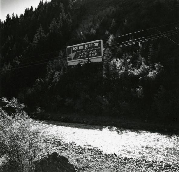 Clear Creek, near Idaho Springs, 1968-72, gelatin-silver print