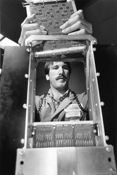Cray at Chippewa Falls, New York, 1986, gelatin-silver print