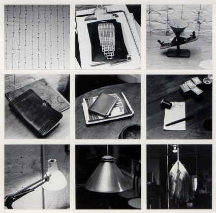 Autobiography, 1980, nine gelatin-silver prints mounted on paper