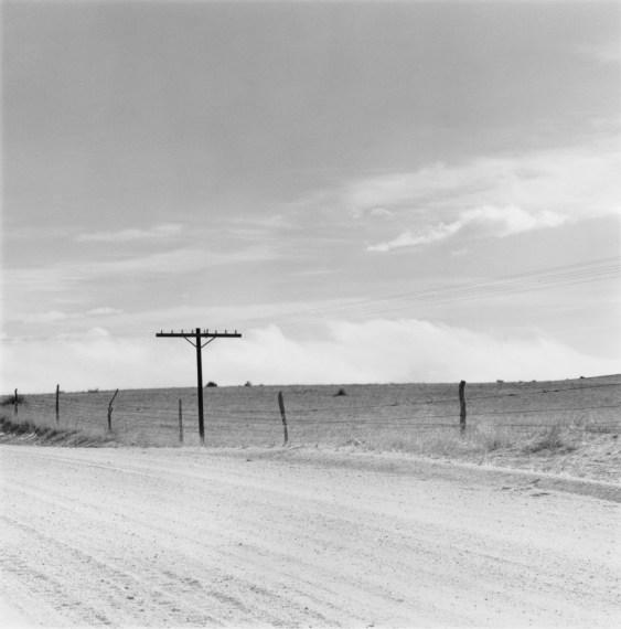 Near Peyton, Colorado, 1968, gelatin-silver print