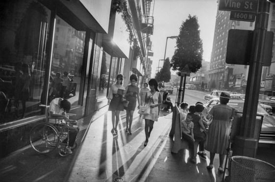 Los Angeles, 1969, gelatin-silver print