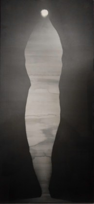 BRUCE CONNOR: Angel Light, 1975, gelatin-silver photogram